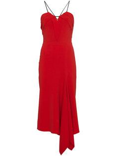 асимметричное платье на бретелях Fazeley  Roland Mouret