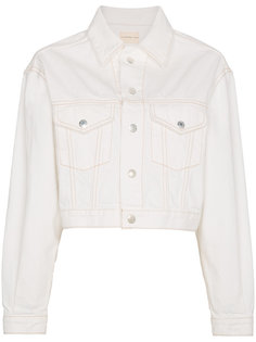 укороченная джинсовая куртка Enid Simon Miller