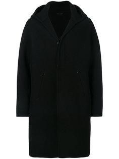 пальто кроя миди с капюшоном Hevo