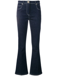 расклешенные джинсы повседневного стиля Versace