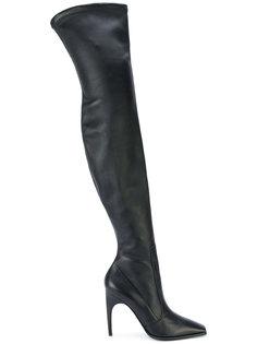 ботфорты на высоком каблуке Versace
