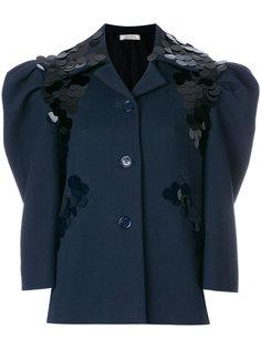 пиджак с крупными пайетками Nina Ricci
