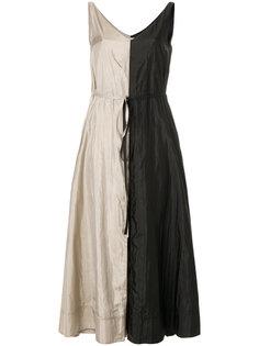 платье с V-образным вырезом  Nina Ricci