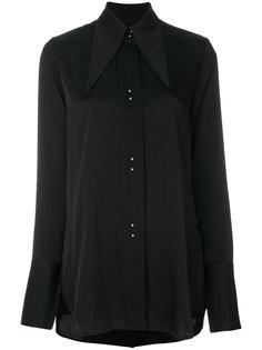 блузка с удлиненным воротником  Ellery