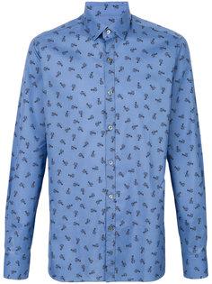 рубашка с принтом лобстеров  Lanvin