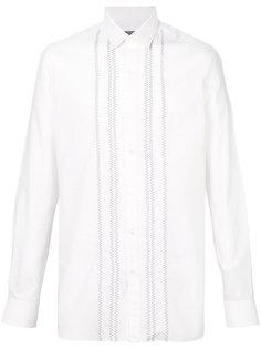 рубашка с вышивкой зигзаг Lanvin