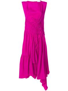 платье миди с драпировкой  Koche