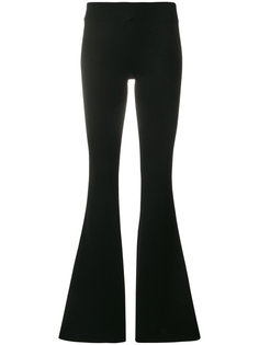 jersey flared trousers Galvan