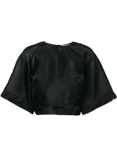 укороченная прозрачная блузка Murmur