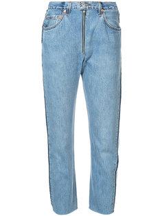 джинсы свободного кроя с высокой талией Re/Done