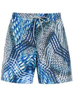Gil Elastic swim shorts Lygia & Nanny