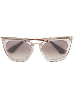"""солнцезащитные очки в оправе """"кошачий глаз"""" Prada Eyewear"""