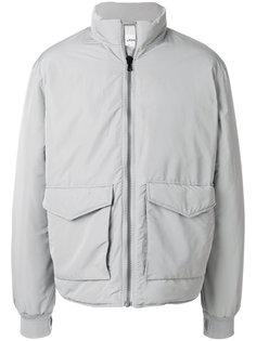 дутая куртка с воротником-воронкой Our Legacy