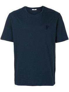 футболка с вышитым логотипом  Versace Collection