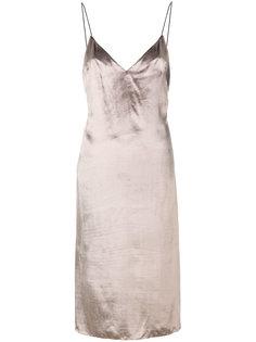 платье-шифт с металлическим отблеском Rag & Bone