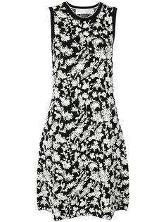 вязаное платье с цветочным узором Victoria Victoria Beckham