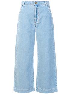 широкие вельветовые джинсы Mih Jeans