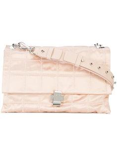 сумка на плечо с простроченной отделкой Nº21