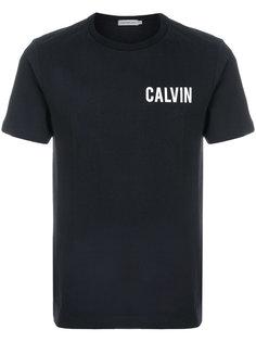 футболка с принтом-логотипом Calvin Klein Jeans