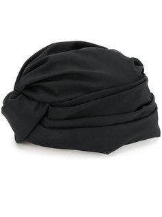 трикотажная шапка с запахом  Flapper