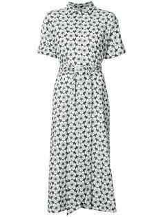 платье на пуговицах с люверсами  Lisa Marie Fernandez