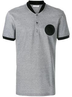 футболка-поло с нашивкой  Versace Collection