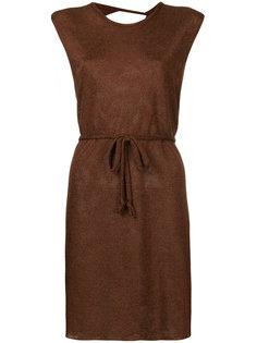 платье-мини с глубоким вырезом на спине Kacey Devlin
