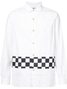 рубашка с принтом в клетку Visvim