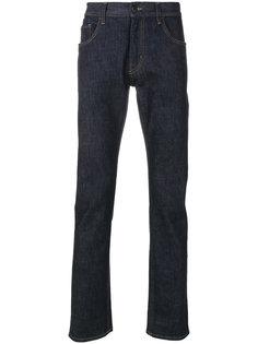 джинсы с потертой отделкой Prada