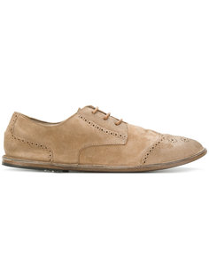 туфли на шнуровке с перфорацией Marsèll