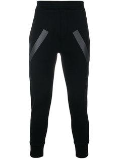 спортивные брюки с полосками Neil Barrett