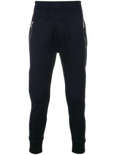 спортивные брюки в байкерском стиле Neil Barrett