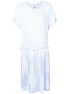 платье шифт свободного кроя Mm6 Maison Margiela