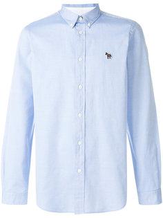 рубашка с вышитым логотипом  Ps By Paul Smith