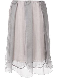 многослойная тюлевая юбка  Prada