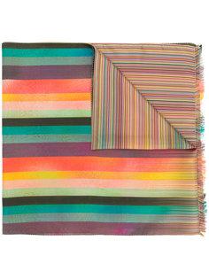 полосатый шарф Paul Smith