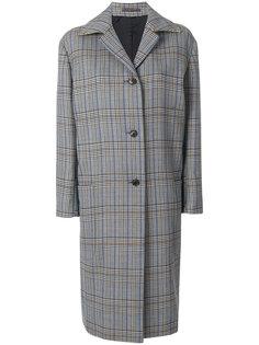 пальто в клетку Paul Smith
