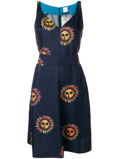 платье с принтом Sun Paul Smith