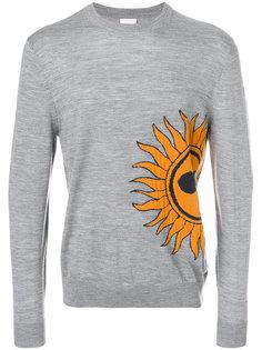 свитер с вышивкой sun Paul Smith