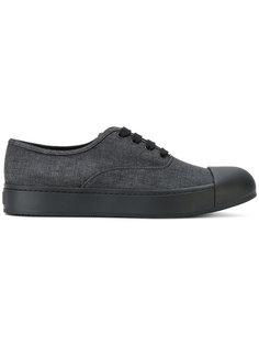 джинсовые кроссовки Prada