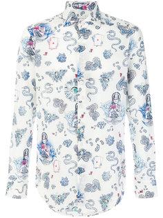 """рубашка с узором """"пейсли"""" Etro"""