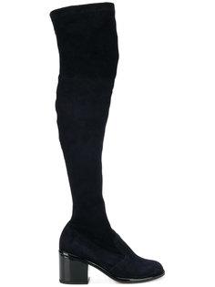 ботфорты на каблуках Robert Clergerie