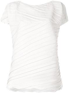 плиссированная футболка Issey Miyake