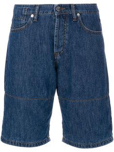 джинсовые шорты с отворотами Marni