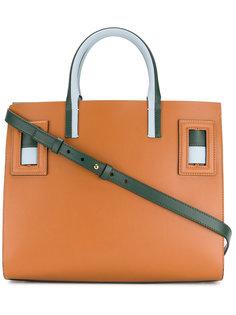 сумка-тоут с контрастными полосками Marni
