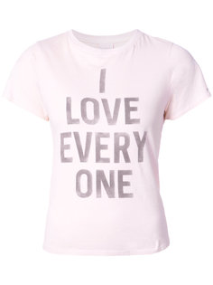 футболка I Love Everyone Cinq A Sept