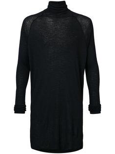 свитер с отворотной горловиной  Jan Jan Van Essche