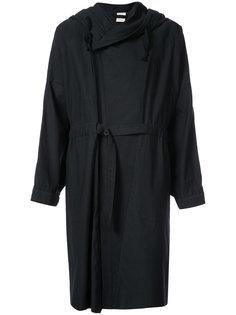 пальто с поясом на пуговицах Jan Jan Van Essche