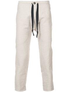 укороченные брюки  с эластичным поясом Jan Jan Van Essche