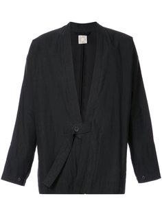 пиджак с поясом на пуговицах Jan Jan Van Essche